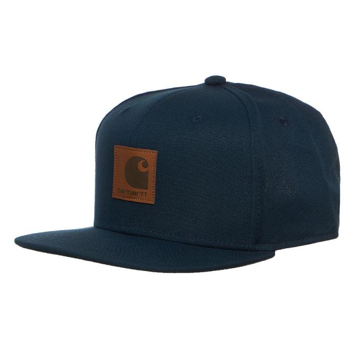 画像1: Logo Snapback Cap Deep Lagoon Hamilton Brown Black ロゴ スナップバック キャップ 帽子 (1)