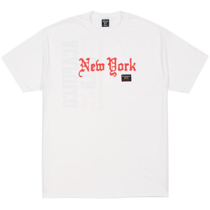 画像1: Old New York S/S Tee 半袖 オールド ニューヨーク Tシャツ White ホワイト (1)