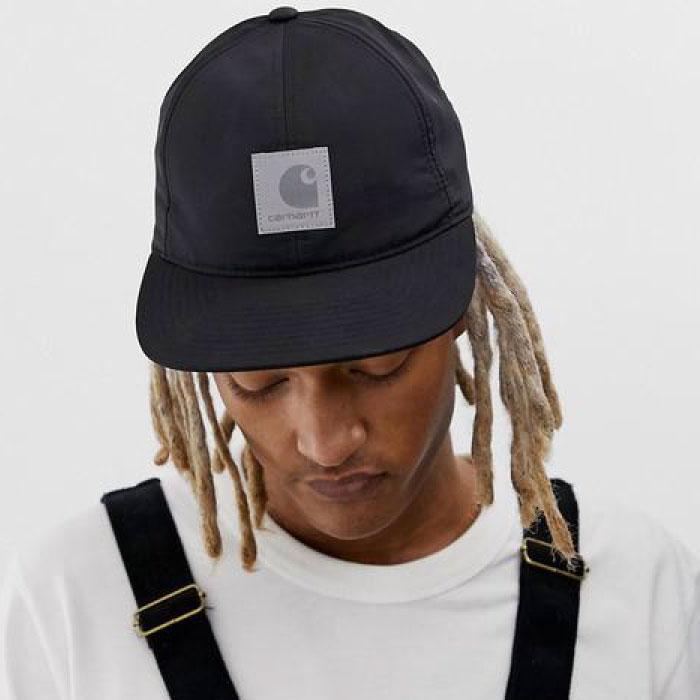 画像1: Elmwood Flexfit Fitted Cap ロゴ フィテッド フレックス フィット キャップ 帽子 Black Moor Green ブラック アーミー グリーン (1)