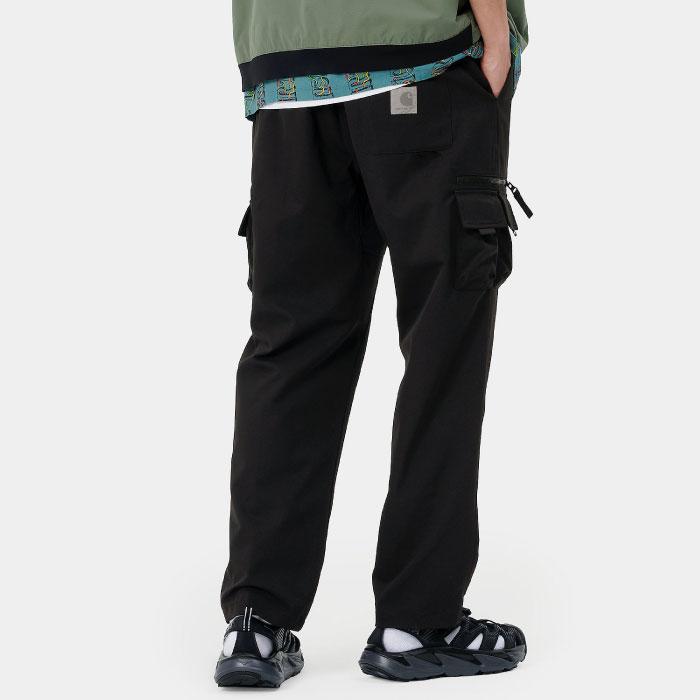 画像1: Elmwood Pants タクティカル ナイロン カーゴ パンツ リフレクティブ ラベル リラックスフィット アウトドア Black ブラック (1)