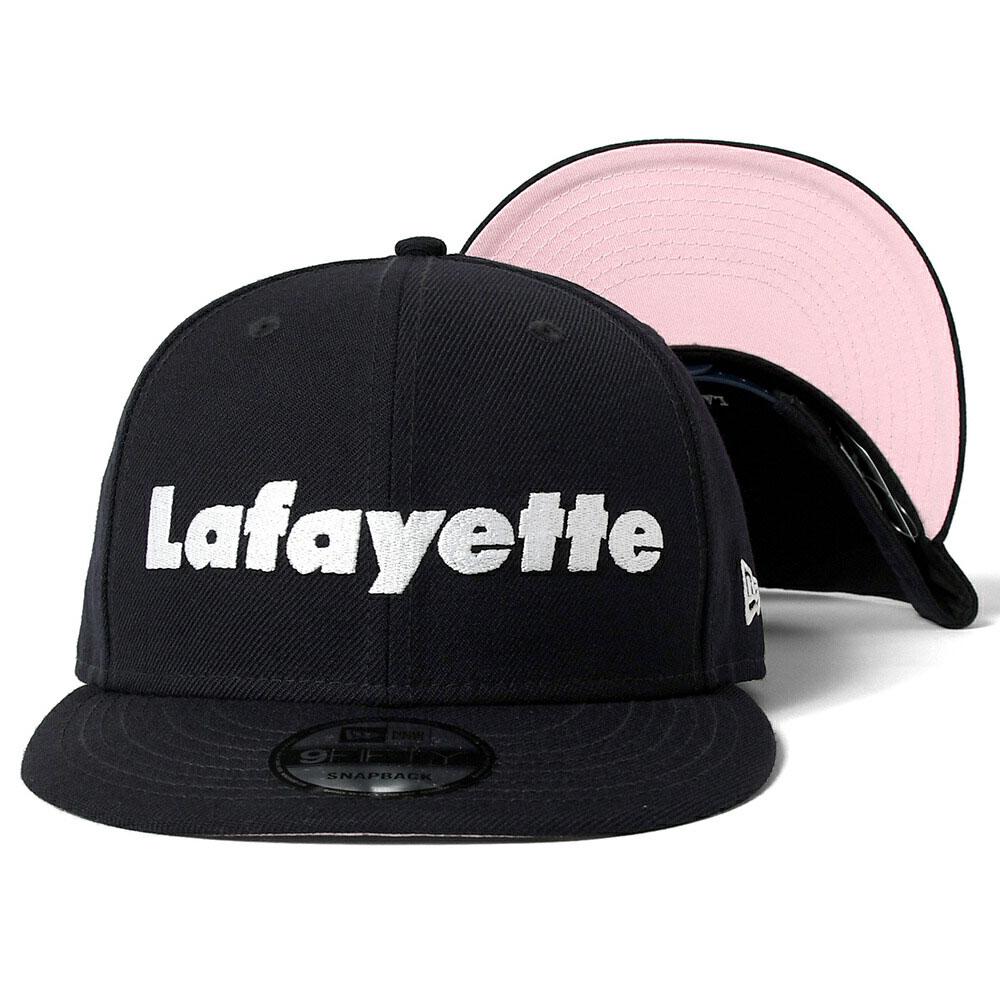 画像1: Lafayette ラファイエット X New Era Logo 9Fifty Snapback Cap ニューエラ スナップバック キャップ 帽子 (1)