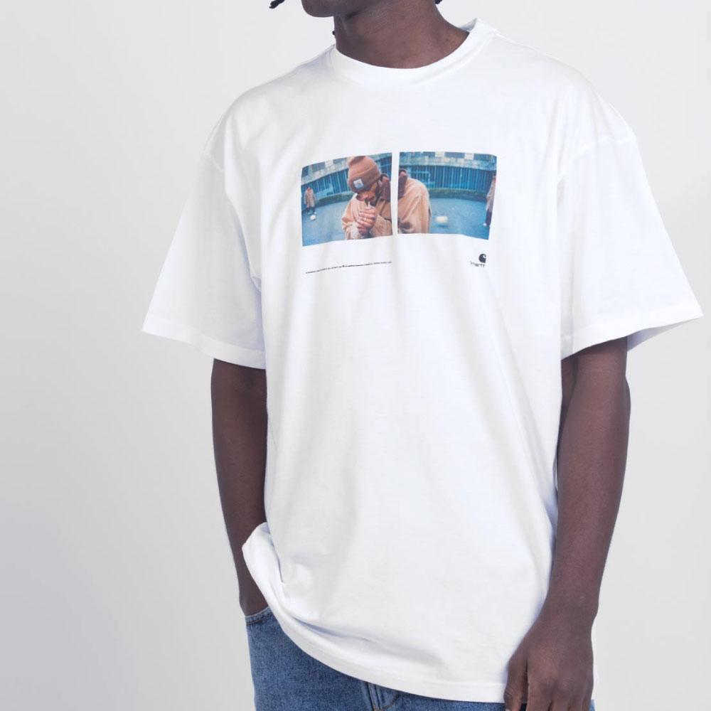 画像1: Backyard S/S Tee バックヤード Photo フォト 半袖 Tシャツ (1)