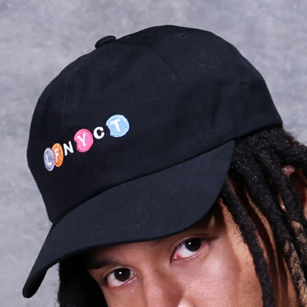 画像1: LFNYCT Dad Hat ボール キャップ 帽子 ダッド ハット ニューヨーク サブウェイ (1)