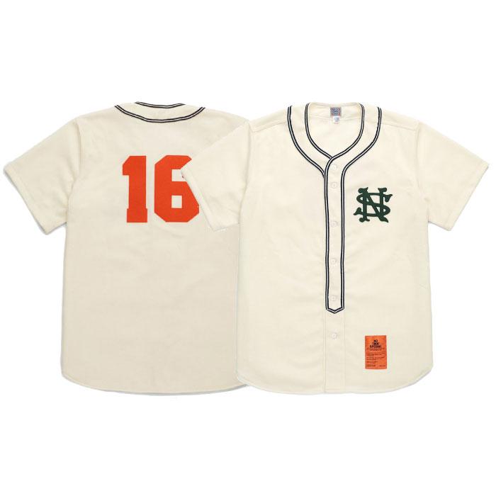 画像1: × Ebbets Field Player Baseball Shirts エベッツ フィールド プレイヤー ベースボール シャツ (1)