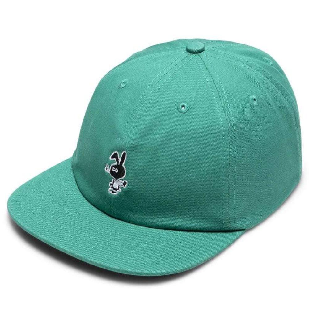 画像1: Bunny 6 Panel embroidery Cap CWFG バニー キャップ 帽子 Green White (1)