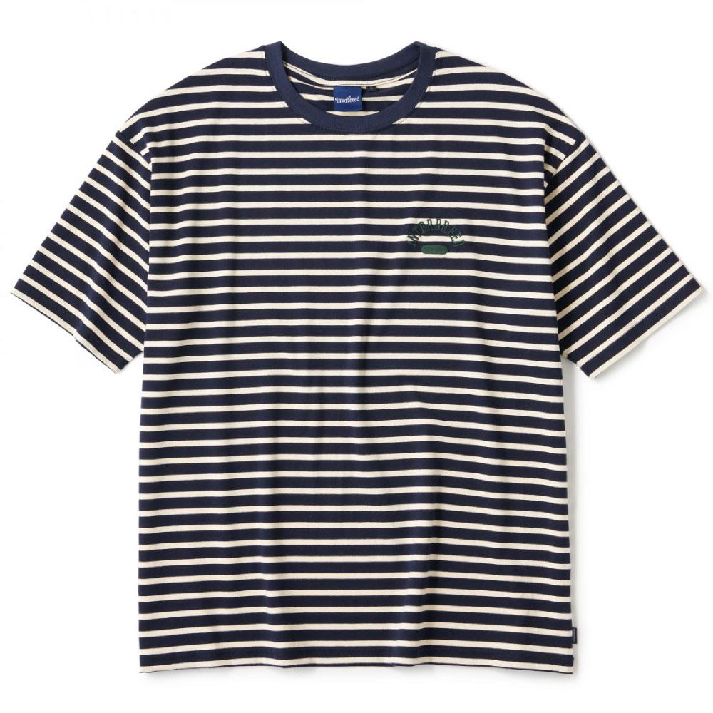 画像1: Club House Border S/S Tee 半袖 Tシャツ ボーダー Navy (1)