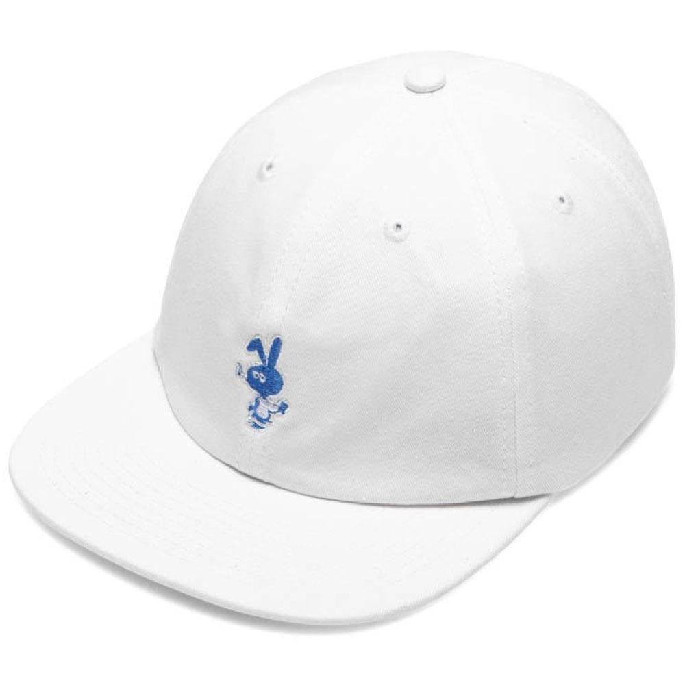 画像1: Bunny 6 Panel embroidery Cap CWFG バニー キャップ 帽子 White Green (1)
