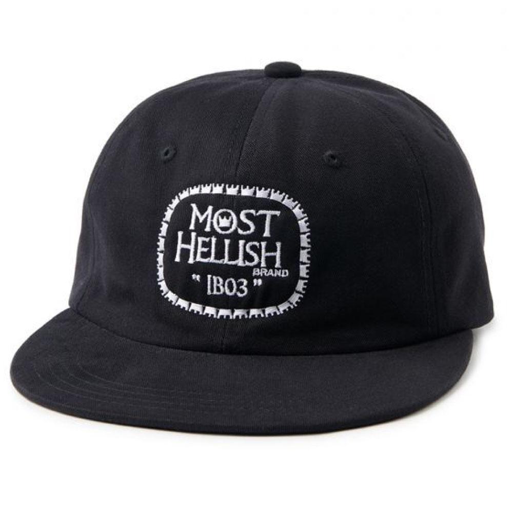 画像1: Drunkers Cap ドランカーズ キャップ 帽子 Black (1)