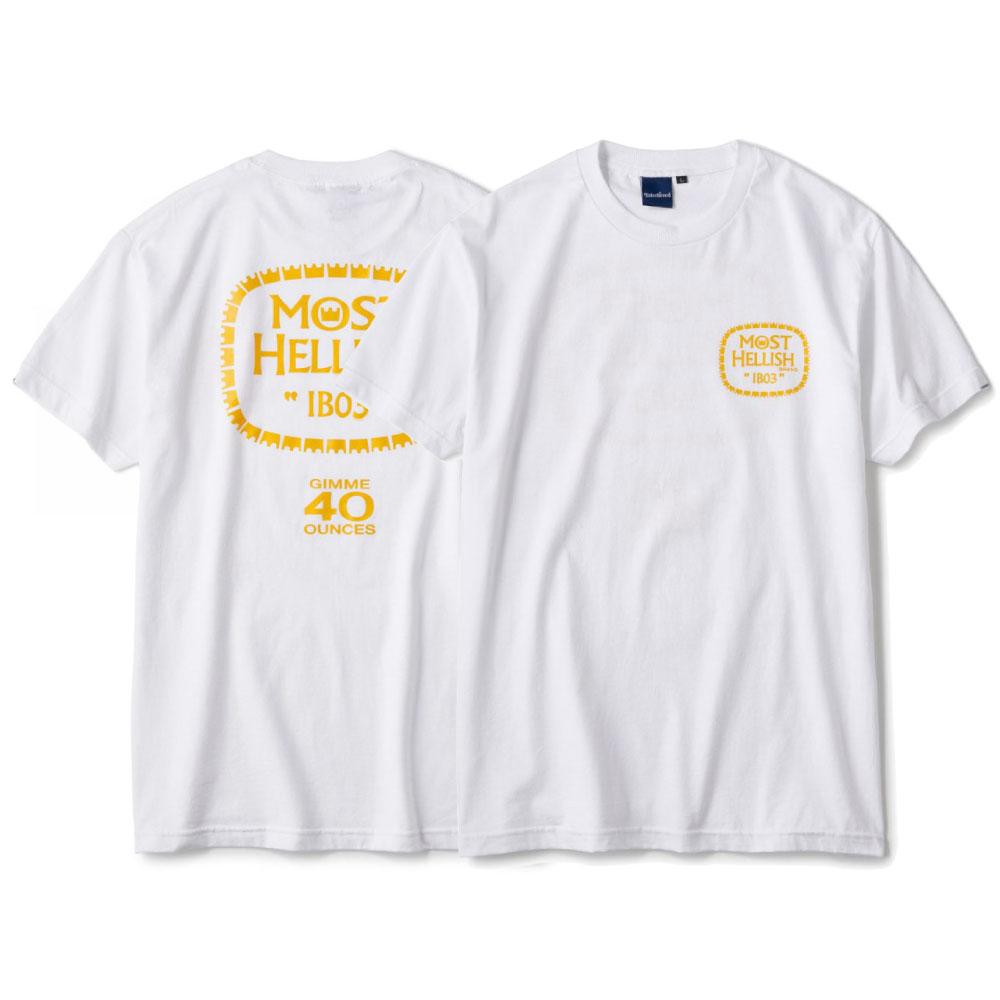 画像1: Drunkers S/S Tee ドランカーズ 半袖 Tシャツ White (1)