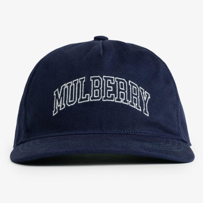 画像1: Mulberry Snapback Cap Navy エメ レオン ドレ マルベリー スナップバック キャップ 帽子 Kith ネイビー (1)