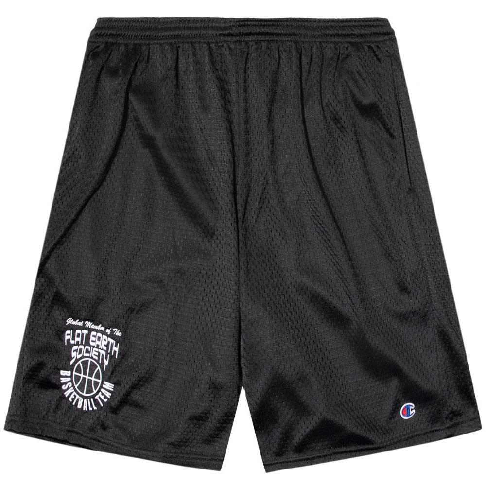 画像1: Frozen Goods Flat Earth Basketball Team Shorts バスケットボール メッシュ ショーツ CWFG Black (1)