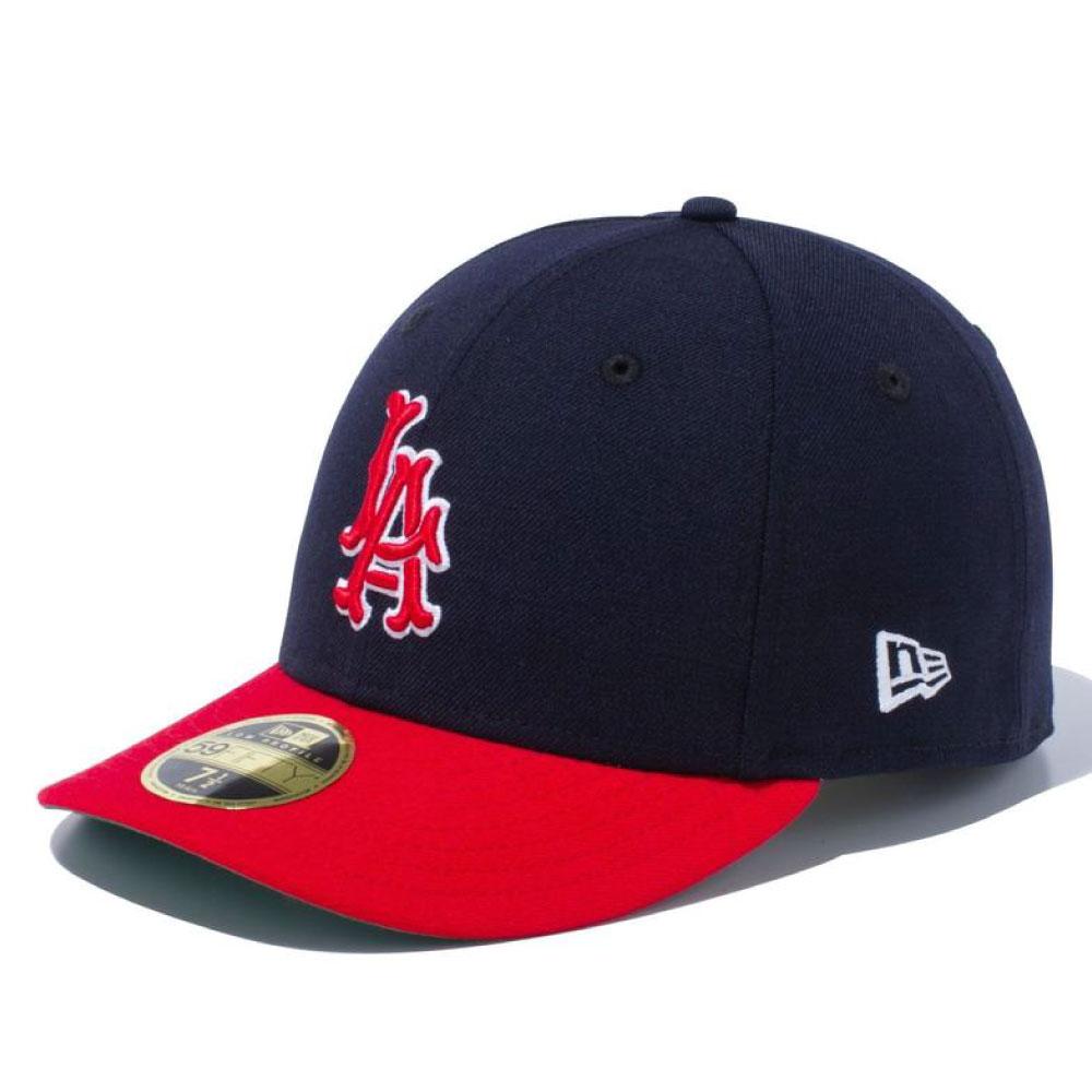 画像1: LP 59Fifty Los Angeles Angels Cap Cooperstown Collection クーパーズタウン ロサンゼルス エンゼルス Classic クラシック MLB 公式 Official (1)