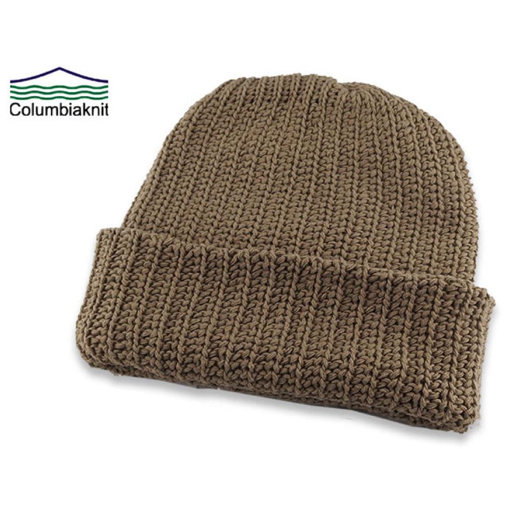画像1: Made In USA Cotton Slouchi Beanie ビーニー  ニット キャップ 帽子 Columbiaknit (1)