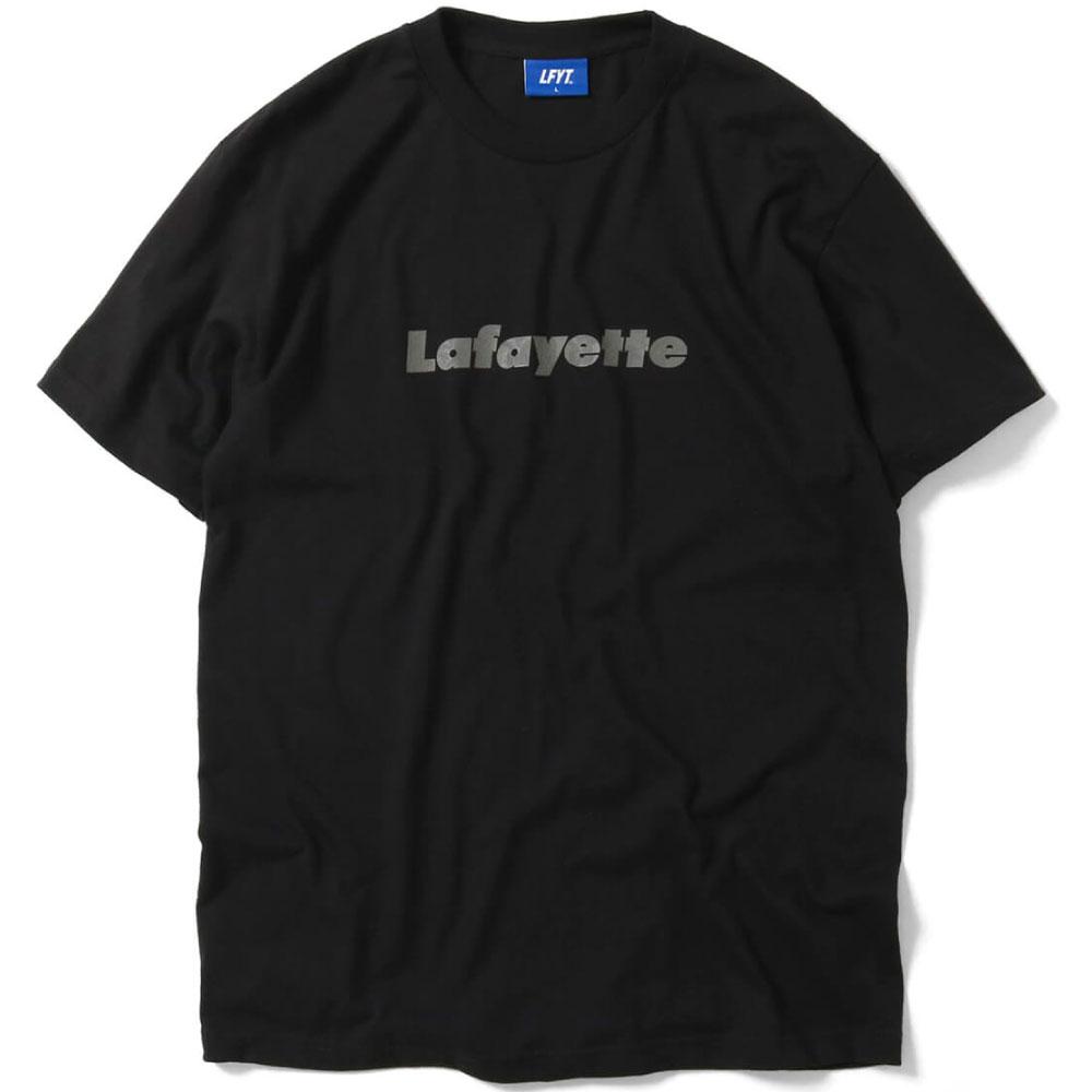画像1: Damask Lafayette Logo S/S Tee 半袖 Tシャツ Black (1)