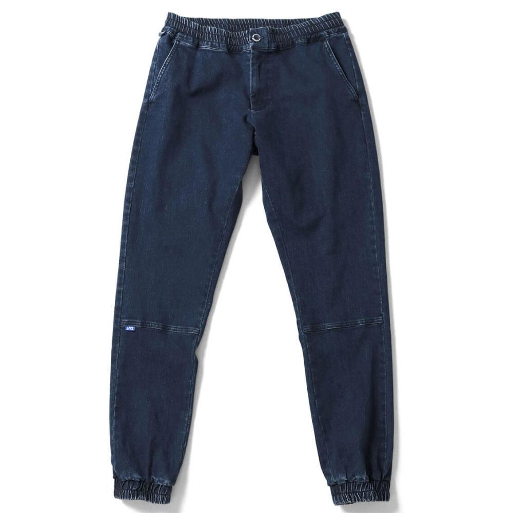画像1: Stretch Jogger Pants ジョガー パンツ Indigo Denim インディゴ デニム (1)