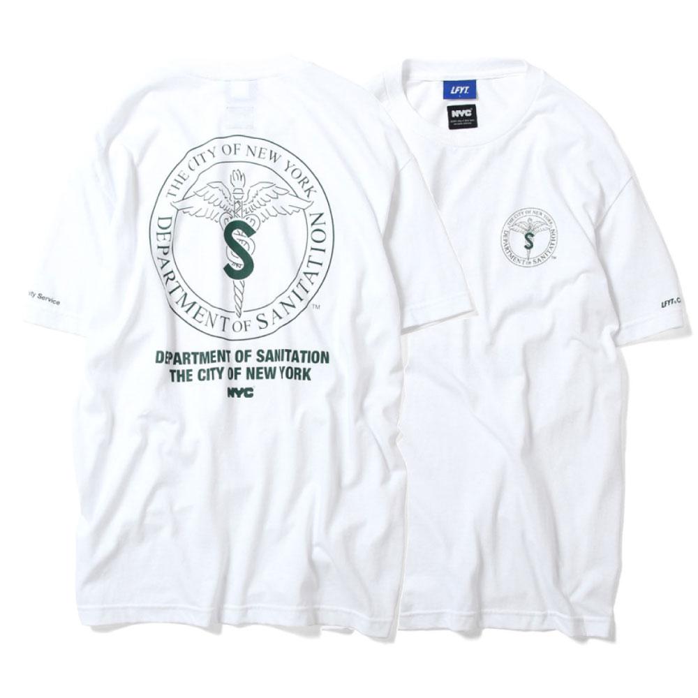 画像1: X DSNY Community Services S/S Tee 半袖 Tシャツ デイーエスエヌワイ White (1)