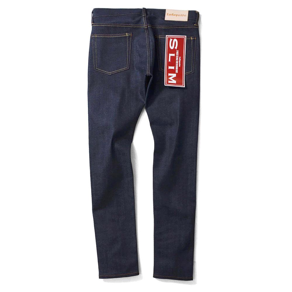 画像1: 5 Pocket Selvage Stretch Denim Pants Slim Fit デニム パンツ スリム フィット (1)