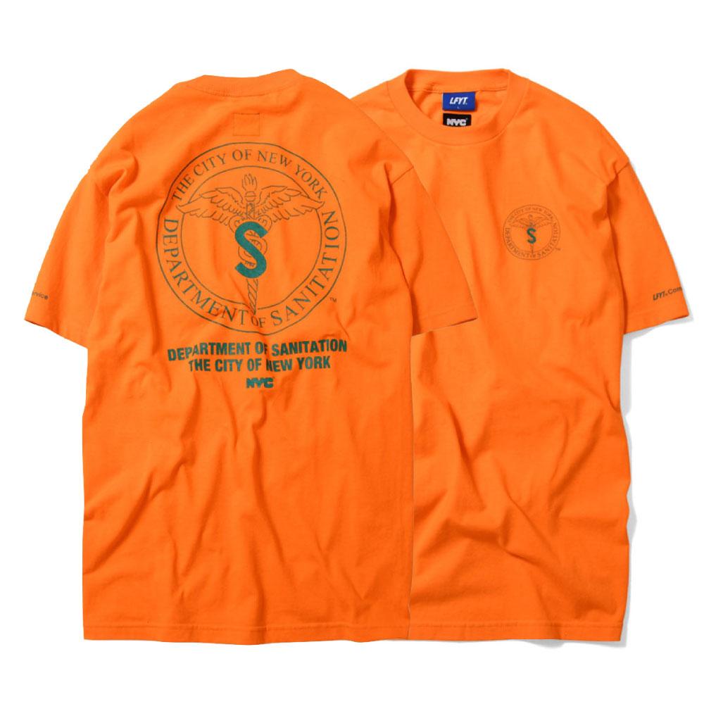 画像1: X DSNY Community Services S/S Tee 半袖 Tシャツ デイーエスエヌワイ Orange (1)