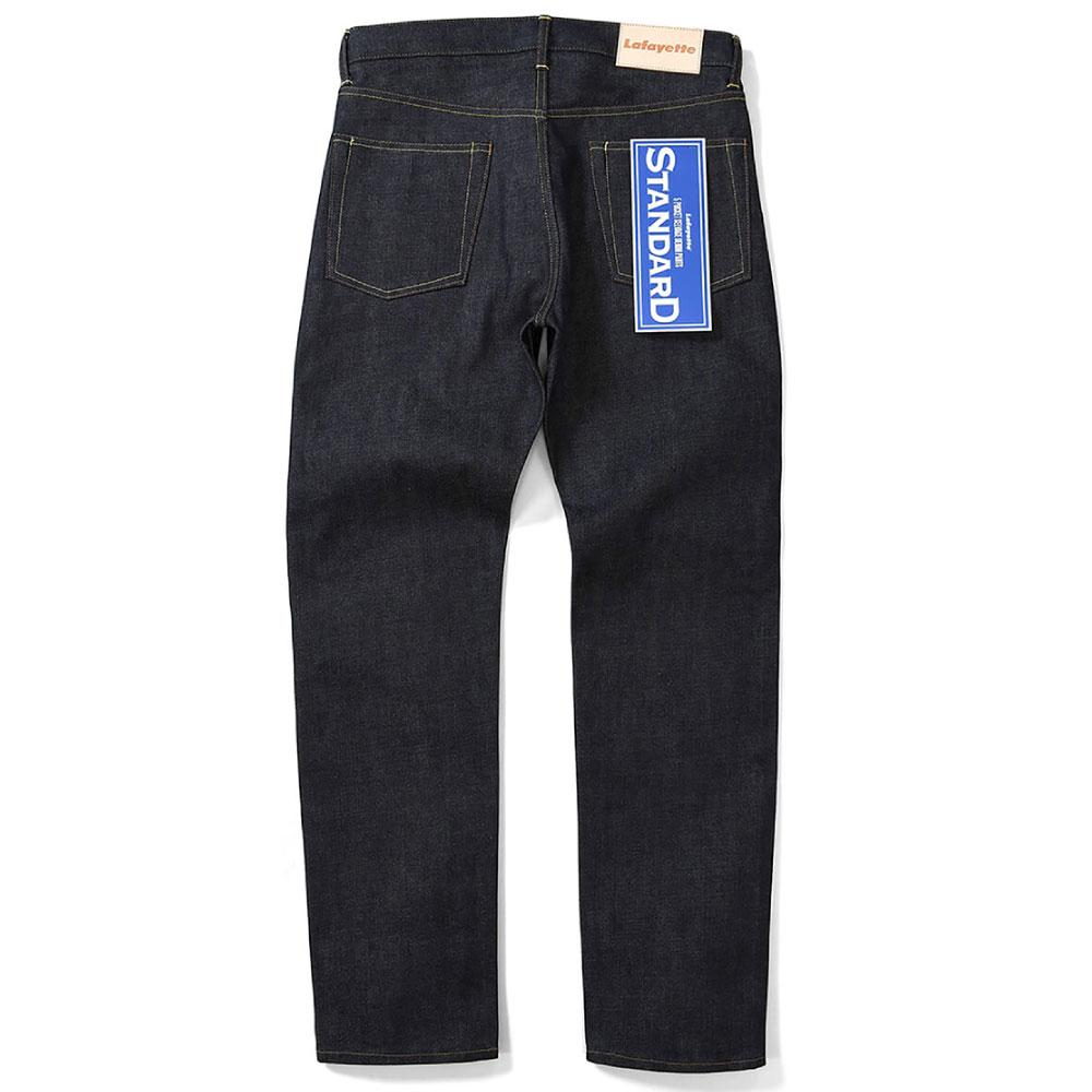 画像1: 5 Pocket Selvage Stretch Denim Pants Standard Fit デニム パンツ スタンダード フィット (1)