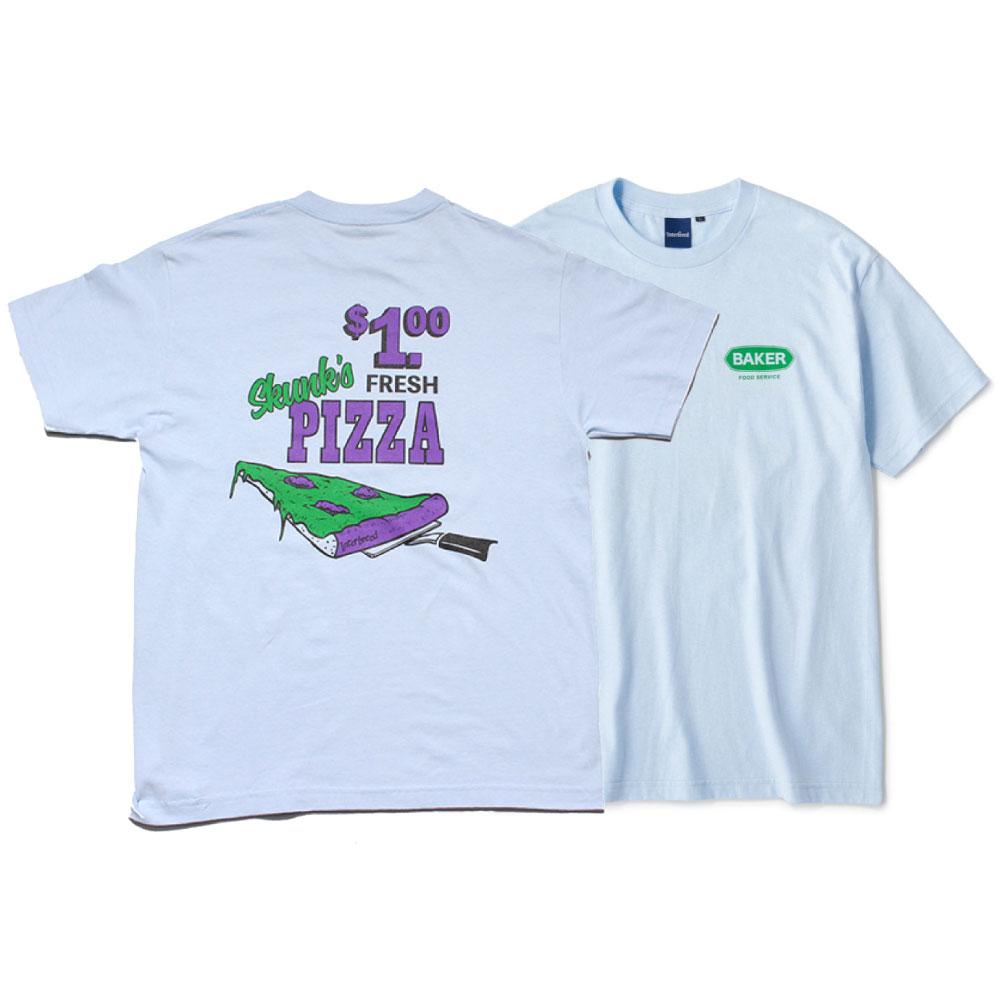 画像1: Skunk's Pizza S/S Tee 半袖 Tシャツ Sax Blue (1)