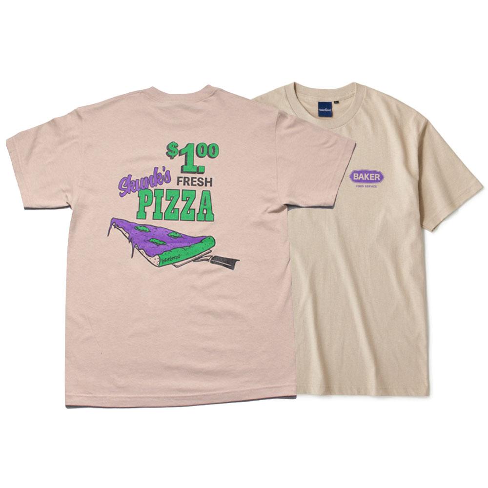 画像1: Skunk's Pizza S/S Tee 半袖 Tシャツ Sand Beige (1)