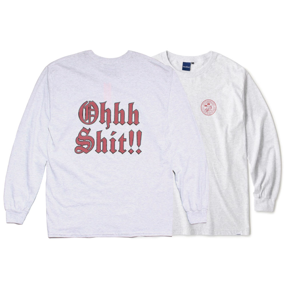画像1: Get Bill L/S Tee 長袖 Tシャツ Ash Gray (1)